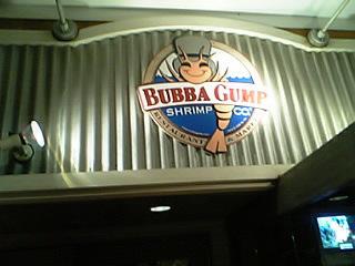 BUBBA GUMP@大阪